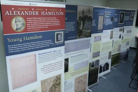 Alexander Hamilton Exhibit Photo